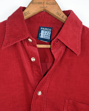 Parco Red Cord Shirt | 10-16