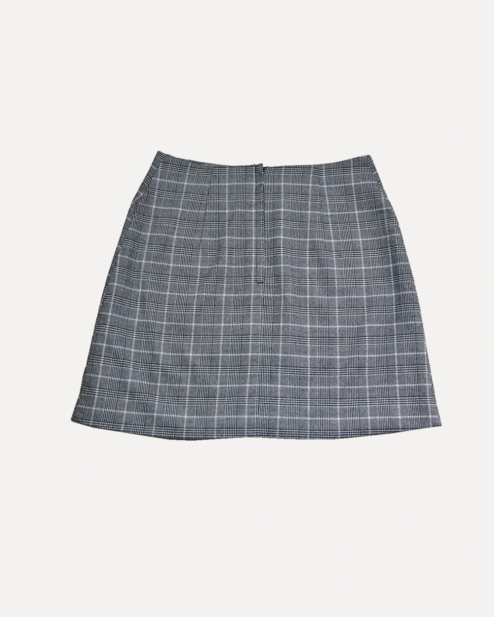 Check Mini Skirt | XS
