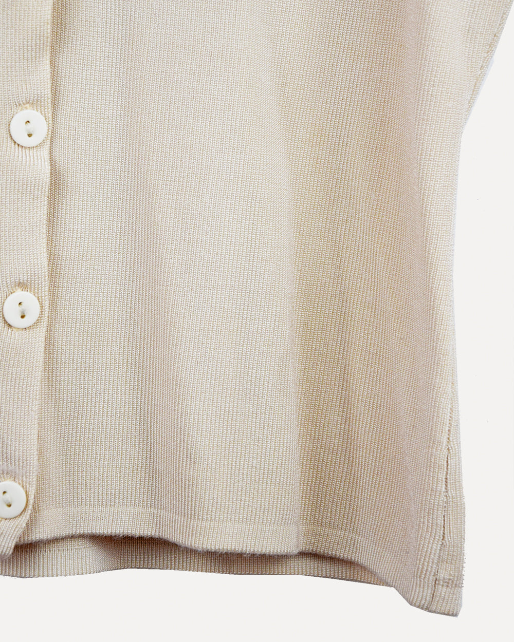 Vintage Button up Knit Top | 10