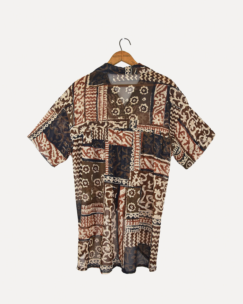 Patterned Retro Shirt | 10-14