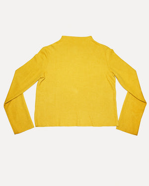High Neck Mustard Knit | S