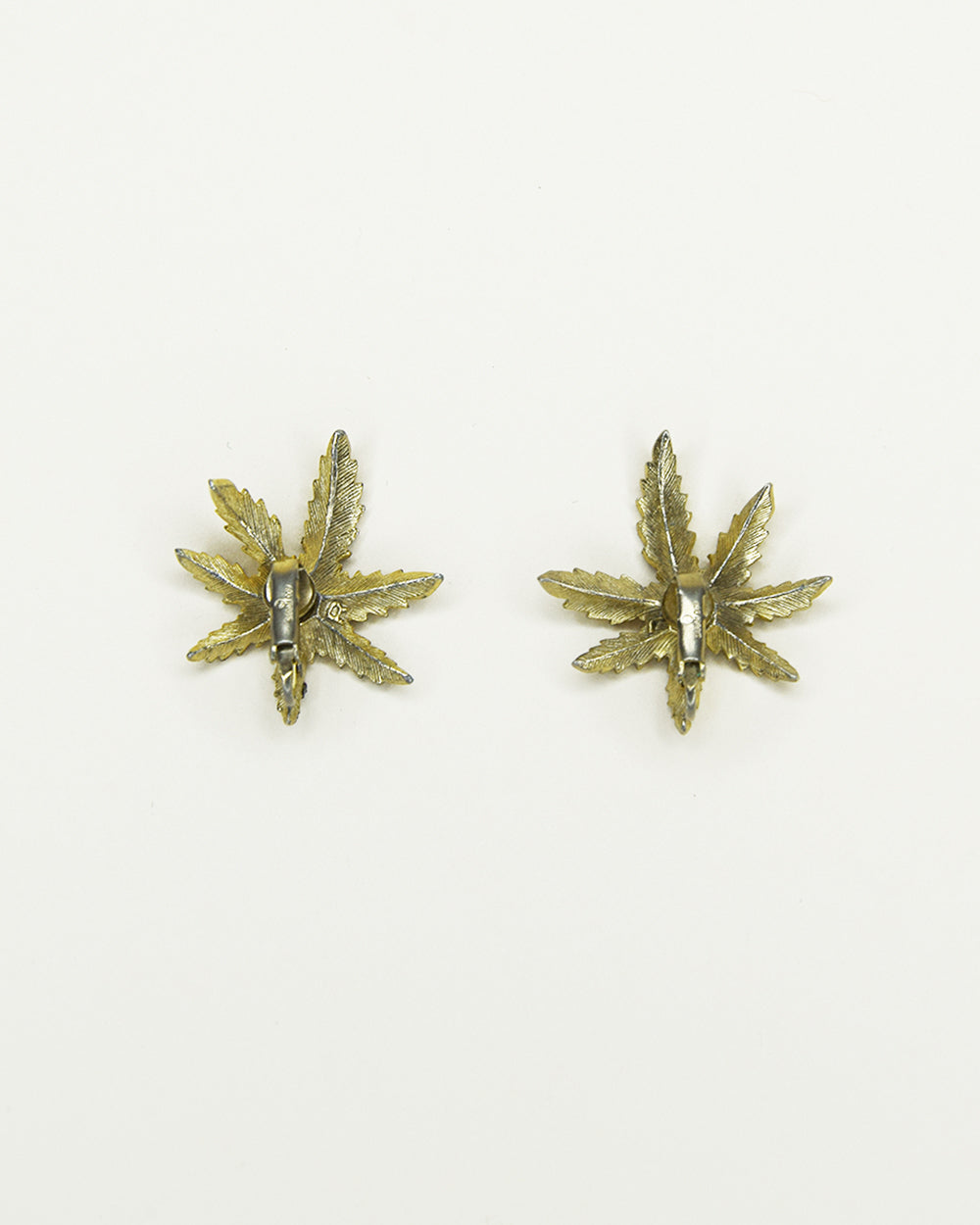 Vintage Palm Earrings