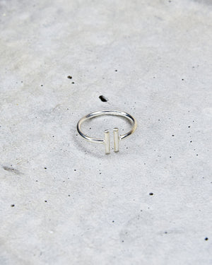 Sterling Silver Midi Ring