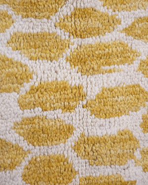 Yellow Moroccan Rug No.19
