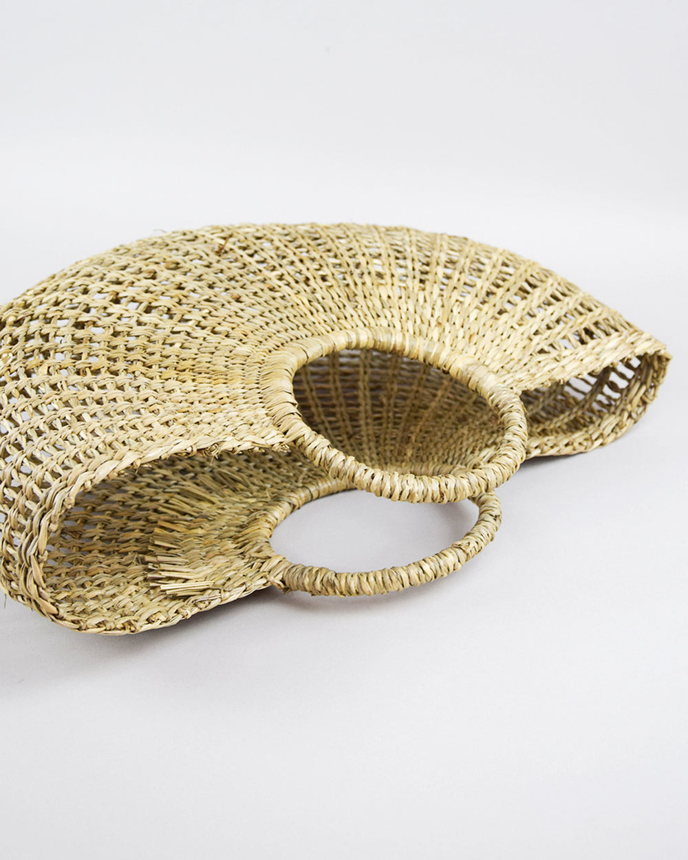 Half Circle Seagrass Basket
