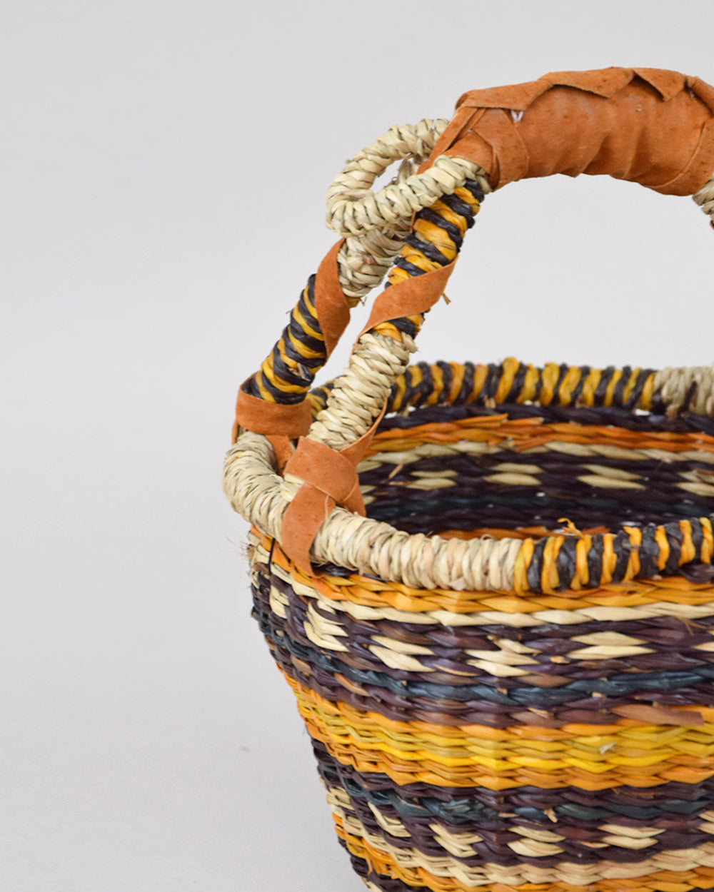 Extra Small Round Basket Autumn