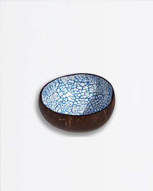 Coconut Bowl Mosaic Blue