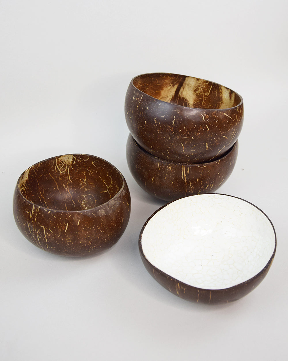 Coconut Bowl Mosaic White
