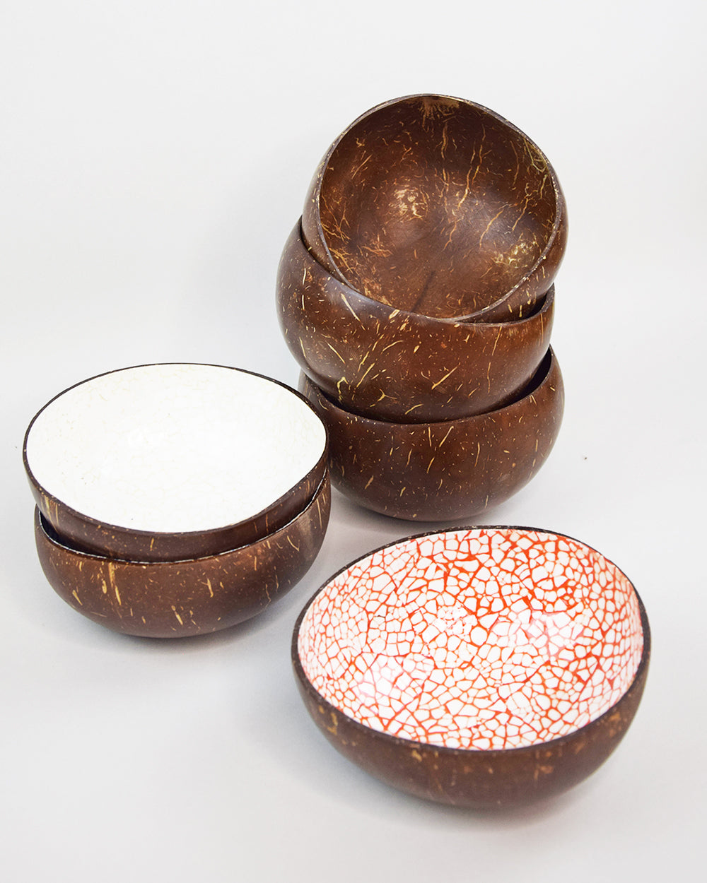 Coconut Bowl Mosaic Orange
