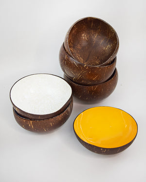 Coconut Bowl Yellow