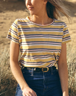 Little Lies Stripe Tee | S