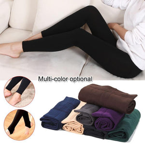 Thermal Fleece Denim Jeggings - Etrendpro