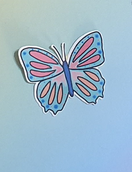 Individual Sticker Butterfly