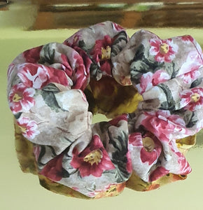 Large Individual Scrunchie Antique