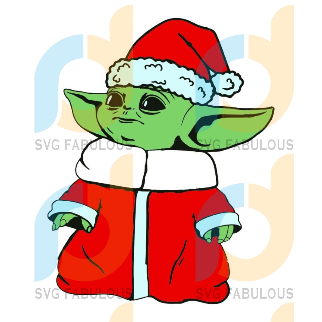 Baby Yoda Christmas svg, Baby Yoda svg, Santa Baby Yoda svg, merry xmas svg, christmas svg, christmas party, merry christmas svg, christmas saying svg, christmas clip art