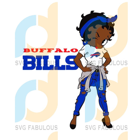 Buffalo Bills Raiders, Sport svg, Trending svg, Football svg file, Football logo, Philadelphia Eagles Football, Football Mom, Football Lover, Sport Mom Svg, Football Gift, Betty Boop Svg, Betty Boop football