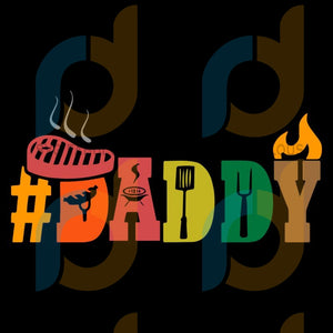 Daddy Fathers Day Svg Files For Silhouette Cricut Dxf Eps Png Instant Download5