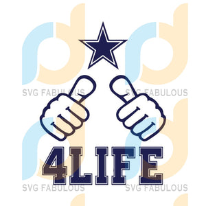 Dallas Cowboys Svg, For Live Svg, Cricut File, NFL Svg