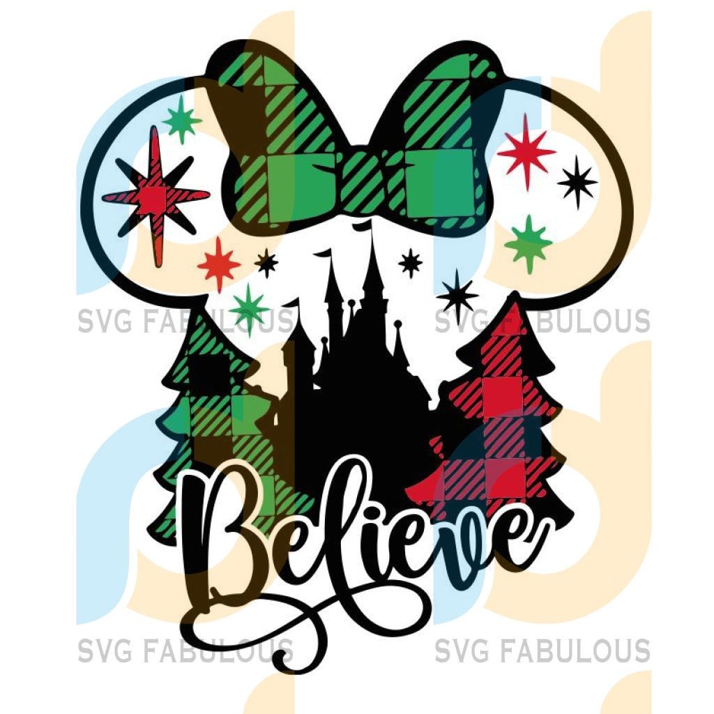 Disney Christmas svg Disney Christmas svg, Christmas svg, Christmas Png, Minnie Christmas png, Christmas Disney svg, Believe svg, Minnie Mouse