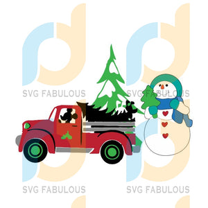 Disney Mickey Christmas Truck svg, Disney Christmas svg, Christmas Truck, Disney Snowman, Disney Christmas svg