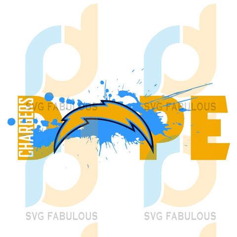Dope Los Angeles Chargers Football Team Svg Sport Fans Logo Lovers