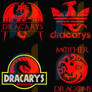 Dracarys Svg Trending Dragon Game Of Thrones Bundle Adidas Fire Got Mother Dragons Logo