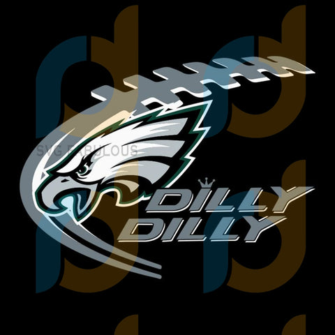 Eagles Dilly Svg Sport Philadelphia Eagles Nfl Football Fan Logo
