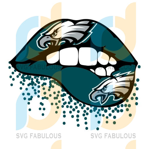 Eagles Sexy Lip Svg Sport Philadelphia Eagles Nfl Football Fan Logo