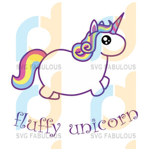 Fluffy Unicorn Svg Trending Dabbing Birthday Party Clipart Lover Horn Vector Head Fluffy Cute