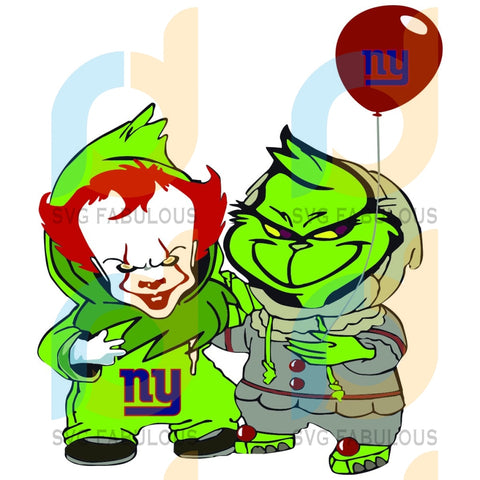 Georgie And Grinch New York Giants Svg Sport Logo Nfl Team American Football
