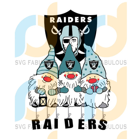 Gnome Fan Las Vegas Raiders,NFL Svg, Football Svg, Cricut File, Svg