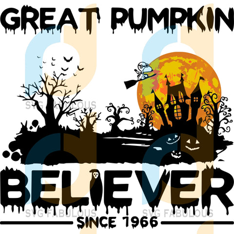 Great Pumpkin Believer Snoopy Svg Halloween Lover Great Clipart Cut File Cricut Birthday Shirts