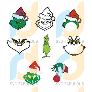 Grinch svg bundle, Grinch bundle svg, Christmas Grinch svg, Grinch chrisrmast svg cut file