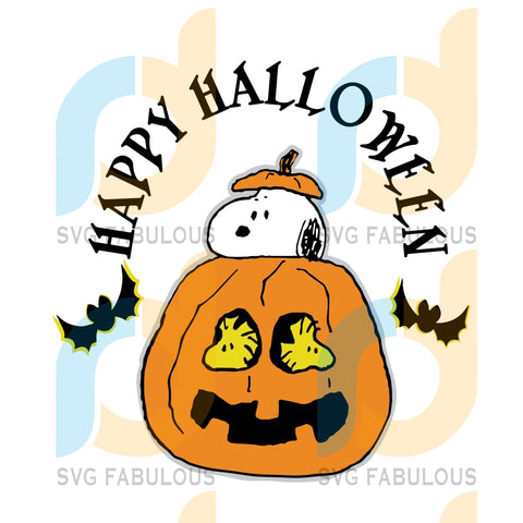 Happy Halloween Snoopy Svg Lover Pumpkin Clipart Cut File Cricut Birthday Gift Party Gifts