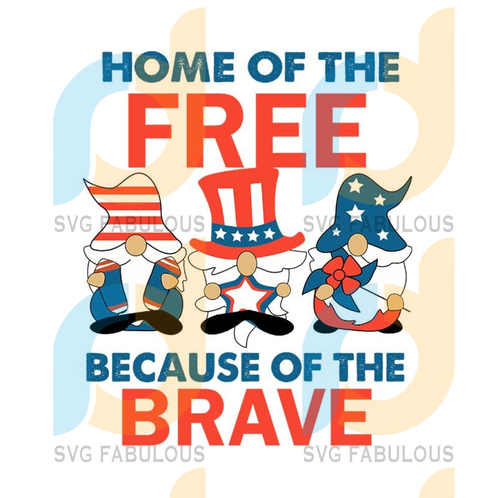 Home Of The Free Because Of The Brave svg, Santa American Flag Veteran Funny svg, Happy Independence Day svg