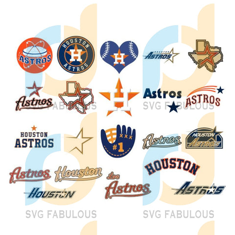 Houston Astros Logo svg bundle, Houston Astros Svg for Cricut , Houston Astros cut files , MLB Houston Astros Svg , Houston Astros SVG, Mlb svg