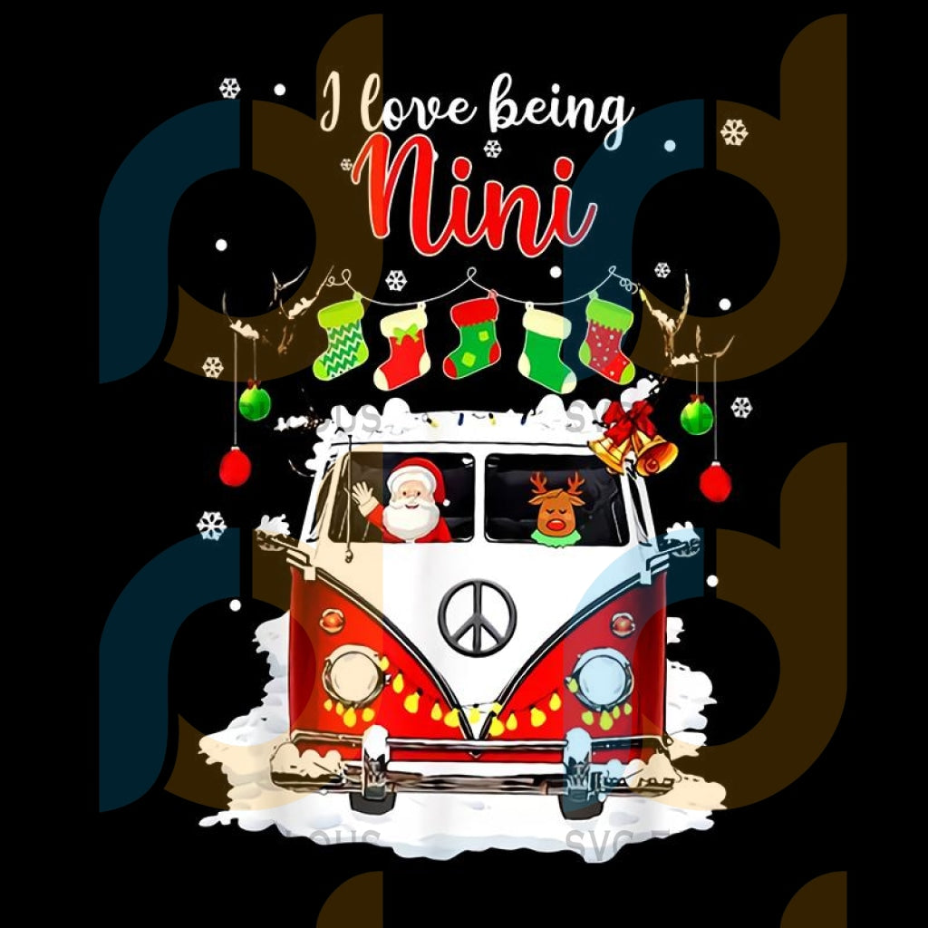 I Love Being Nini Reindeer Christmas png, merry xmas png, christmas png, christmas party, merry christmas png, christmas saying png, christmas clip art