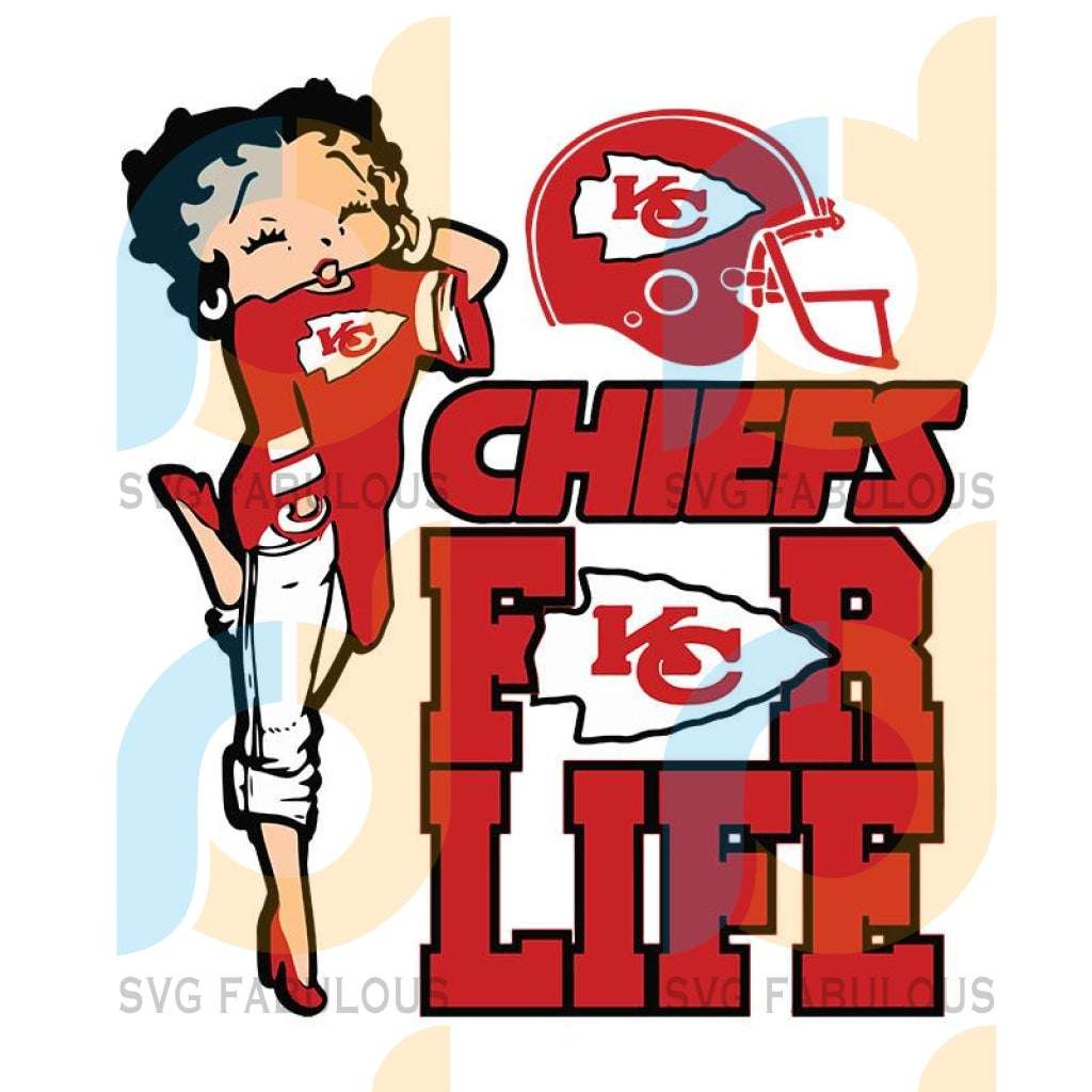Kansas City Chiefs For Life Girl Kansas City Chiefs svg, Kansas City Chiefs png