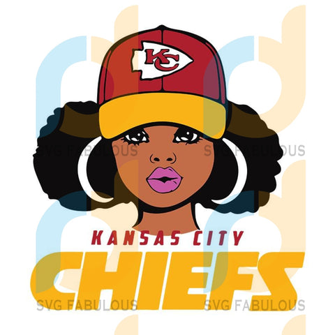 Kansas City Chiefs Girl svg, dxf, png, NFL girl svg,dxf,png, NFL logo svg, dxf, png, NFL