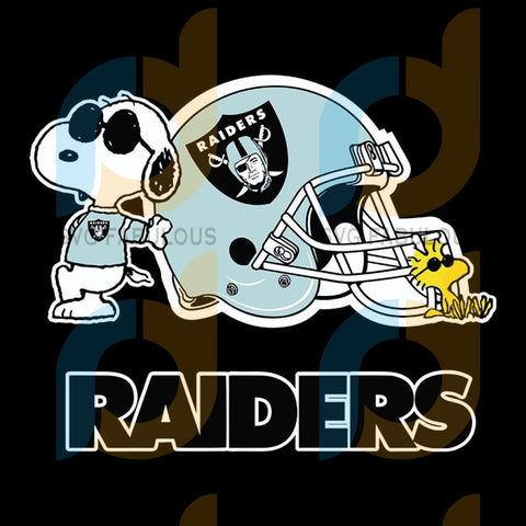 Las Vegas Raiders Snoopy NFL Svg, Football Svg, Cricut File, Svg