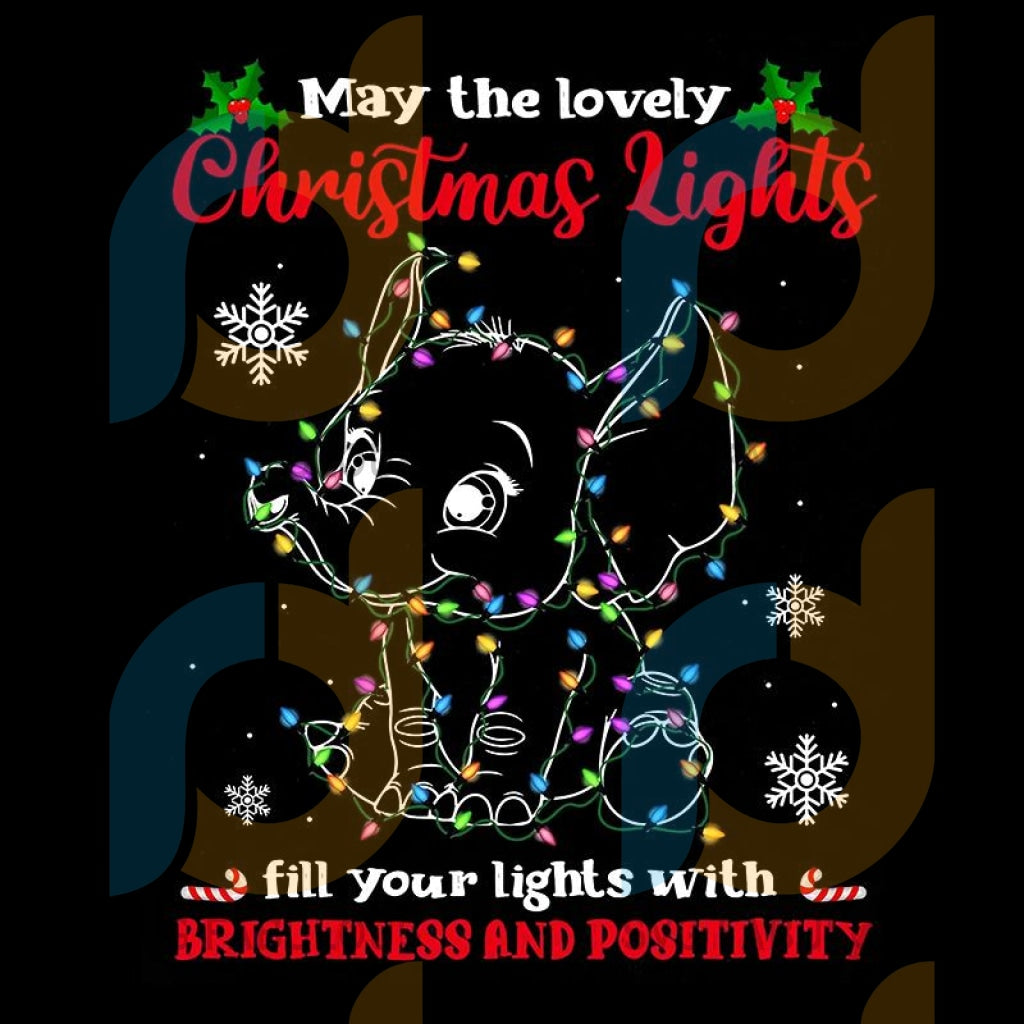 May The Lovely Christmas Lights Fill Your Lights With Brightness And Positivity png, merry xmas png, christmas png, christmas party, merry christmas png, christmas saying png, christmas clip art