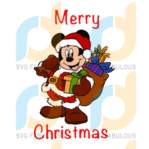 Mickey Mouse Merry Christmas svg, merry xmas svg, christmas svg, christmas party, merry christmas svg, christmas saying svg, christmas clip art