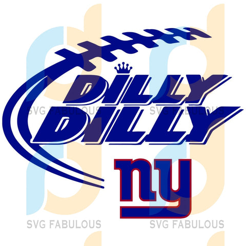 New York Giants Dilly Svg Sport Logo Nfl Team American Football