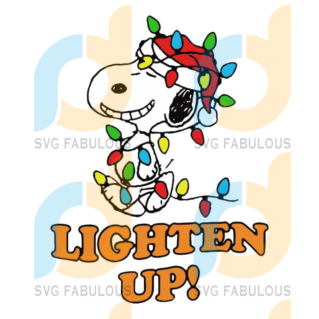 Peanuts Snoopy Christmas Lighten Up svg, Christmas Birthday Cute Gift, Funny Christmas svg, merry xmas svg, christmas svg, christmas party, merry christmas svg, christmas saying svg