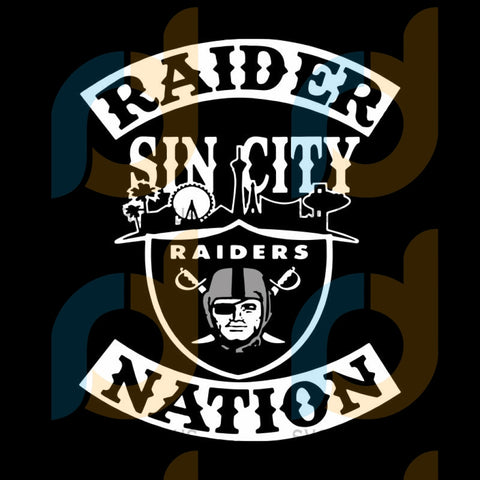 Raider Sun City nation svg, Raiders svg,png,eps,dxf pdf, file