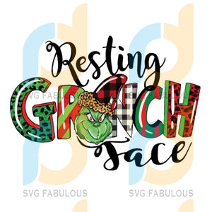 Resting Grinch Face Christmas png, merry xmas png, christmas png, christmas party, merry christmas png, christmas saying png, christmas clip art