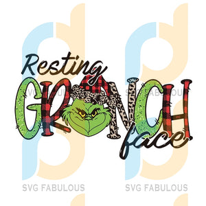 Resting Grinch Face png, merry xmas svg, christmas svg, christmas party, merry christmas svg, christmas saying svg, christmas clip art
