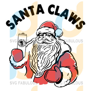 Santa Claws Beer svg, Beer White Claw svg, Christmas svg, merry xmas svg, christmas svg, christmas party, merry christmas svg, christmas saying svg, christmas clip art