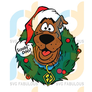 Scooby Doo Christmas svg, Disney character svg, merry xmas svg, christmas svg, christmas party, merry christmas svg, christmas saying svg, christmas clip art