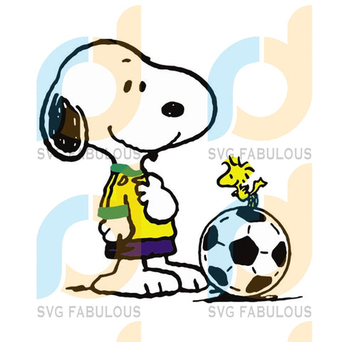 Snoopy Love Football Svg Sport Snoopy Lover Footbal Ball Clipart Cut File Cricut Birthday Shirts